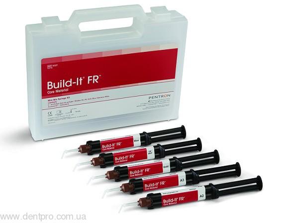 Билд-ит (Build-it FR Core), материал двойного отверждения для создания культи зуба и фиксации штифтов (Булд-Ит) - 1