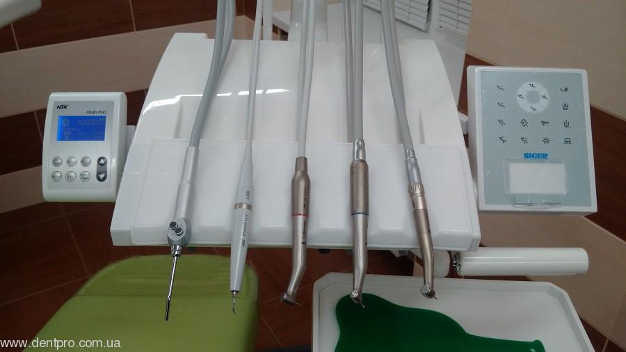 Multi Pad + NLX Plus / NLX Nano NSK, встраиваемый программируемый индукционный микроэлектромотор, комплект для инсталяции (Мульти Пад НСК) - 2