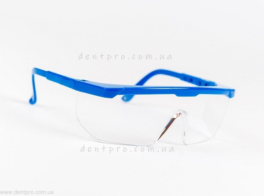 Очки защитные Univet 511.03.01.00, прозрачные, боковая защита, защита от царапин - 4