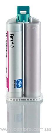 Футар Д (Futar D) материал для регистрации прикуса, набор: 2 катриджа по 50мл - 2