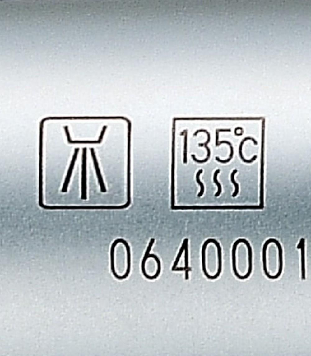 Наконечник угловой повышающий S-Max M95L 1:5 (NSK) кнопочный для турбинного бора, с оптикой - 6
