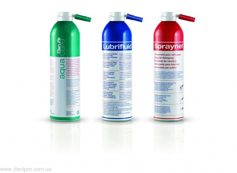 Аква кейр (Aqua Care), чистящее средство для хирургических наконечников, баллон 500мл - 2