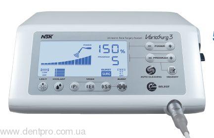 Имплантологический центр DUO NSK: VarioSurg3 LED + SurgicPro, объединенные в один комплекс новейший Физиодиспенсер и Ультразвуковая хирургическая система - 4