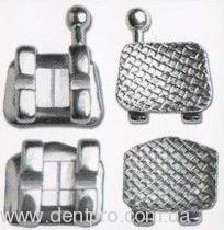 Брекеты металлические UFO mini (Ortho Star, USA), Roth паз 022, нижняя челюсть 10шт. - 1