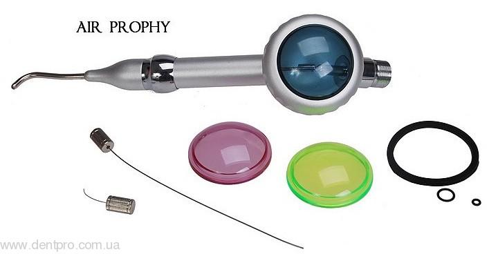 Воздушный полировщик Эйр Профи (Air Prophy), наконечник для чистки и полировки зубов (содоструй, пескоструй) без соды - 1