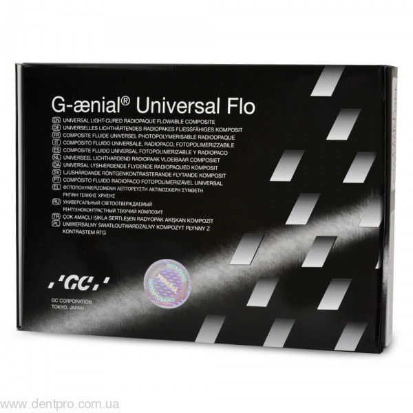 Джениал Юниверсал Флоу (G-aenial Universal Flo) шприц 3.4г, оттенок А2  - 1