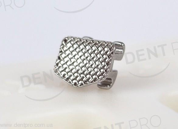 Брекеты металлические  Mini PROTECT Roth .022 с крючком на 3, 4, 5, челюсть 5-5 (10 шт) - 3