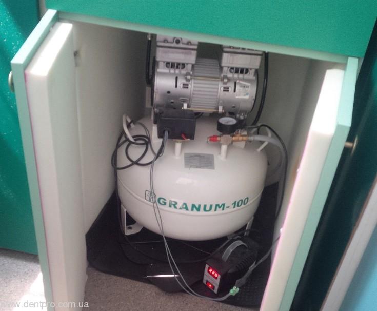 Звукопоглощающий шкаф с принудительным охлаждением для компрессоров и вакуумных помп - 2