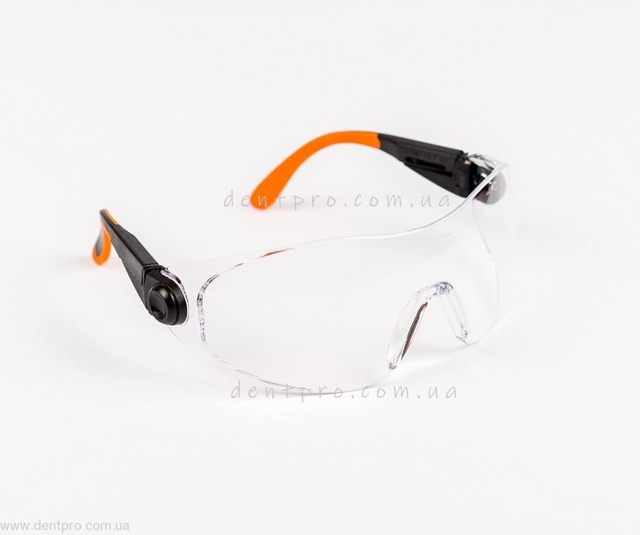 Очки защитные Univet 529.00.05.00, прозрачные, защита от царапин - 1