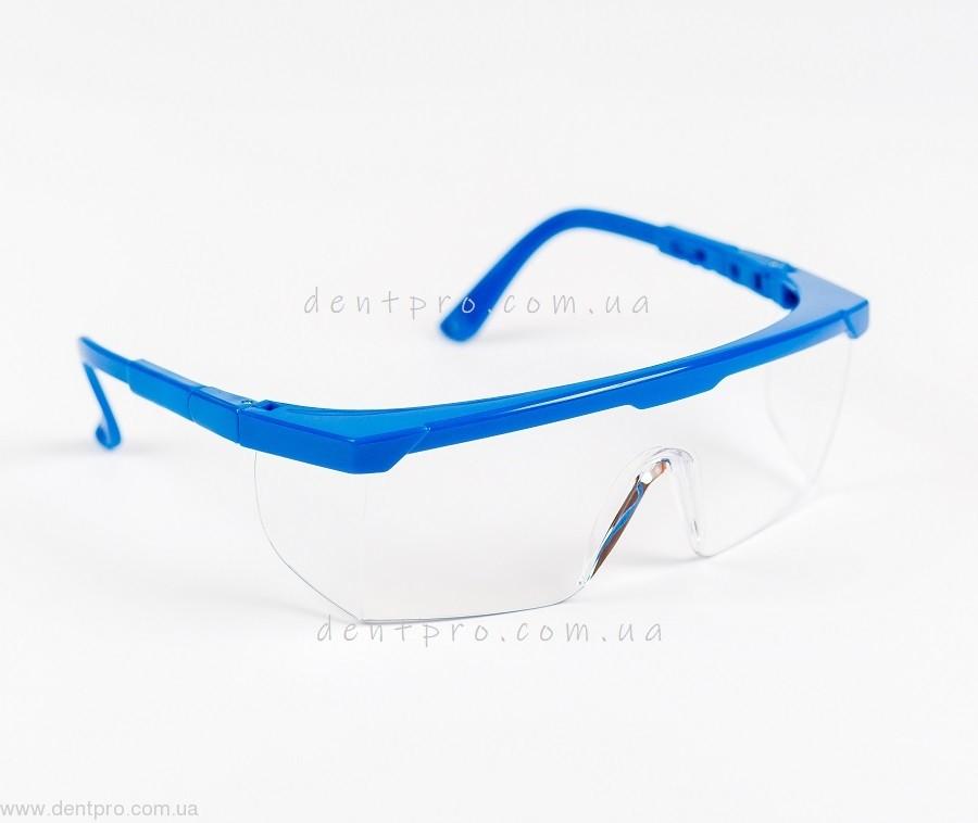Очки защитные Univet 511.03.01.00, прозрачные, боковая защита, защита от царапин - 2