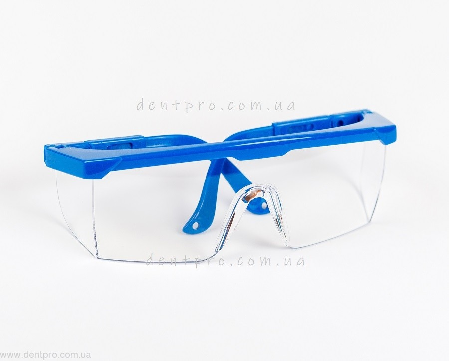 Очки защитные Univet 511.03.01.00, прозрачные, боковая защита, защита от царапин - 3