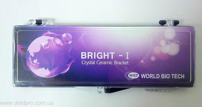 Брекеты керамические Bright-I (WBT), Roth 022 фронтальные 3 - 3 одна челюсть, упаковка 6шт - 3