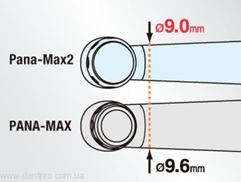 Pana-Max2 NSK (Пана-Макс2 НСК), турбинный кнопочный наконечник (оригинал) - 3