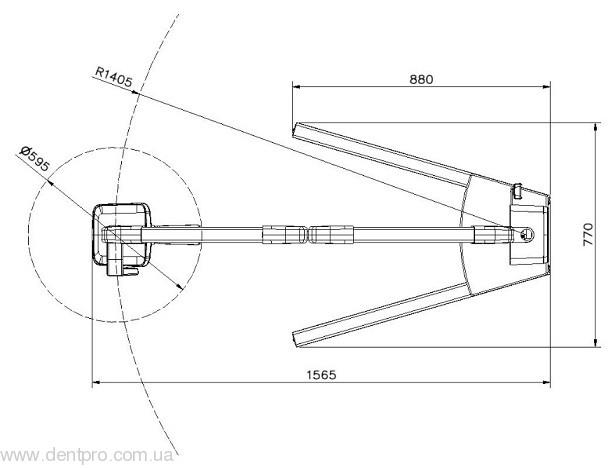 Дентальный мобильный рентген RXDC70-M (Trident, Италия), постоянного тока - 2