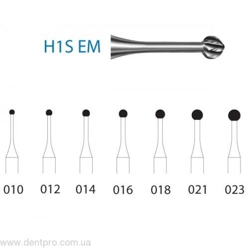 Набор угловых твердосплавных карбидных боров Komet H1SEM 204 Collection (TD 3170), набор 22 шт в органайзере (Комет)  - 2