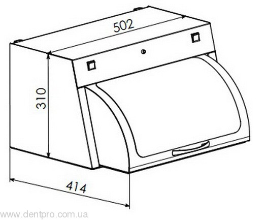 УФ камера для хранения стерильного инструмента ПАНМЕД-1 - 1