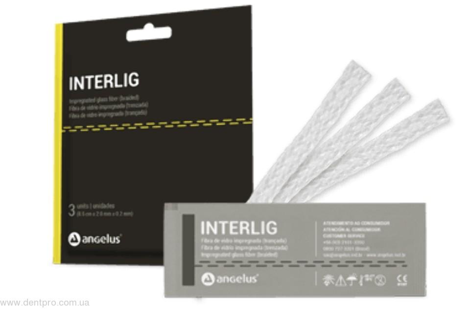 Интерлиг (Interlig, Angelus) шинирующая система (плетенная стекловолоконная лента, пропитанная фотополимером) - 1