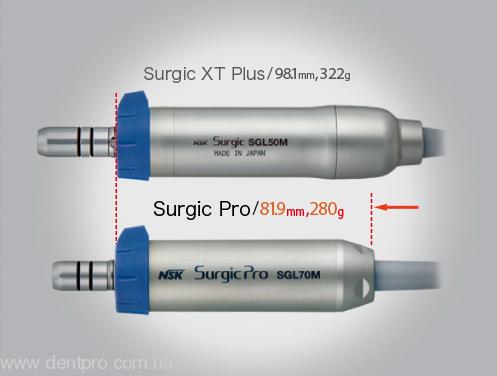 Физиодиспенсер Surgic Pro OPT (NSK) с LED-светом и наконечником 20:1 (кнопочный) - 1