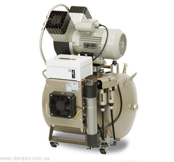 Стоматологический безмаслянный компрессор Еkom DK 50 2V/50 (Словакия), для двух стоматологических установок - 1