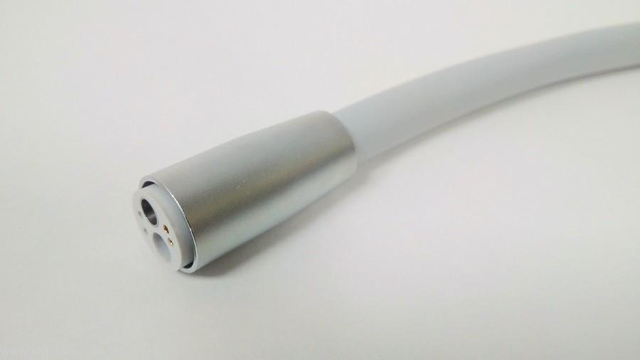 Шланг турбинный с 4-х канальным разъемом Midwest M4 (Cefla Co., Италия) с оптикой / без оптики, с быстросъемным соединением - 1