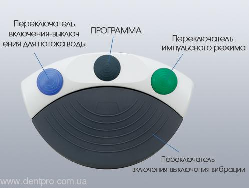 Физиодиспенсер Surgic Pro OPT (NSK) с LED-светом и наконечником 20:1 (кнопочный) - 5