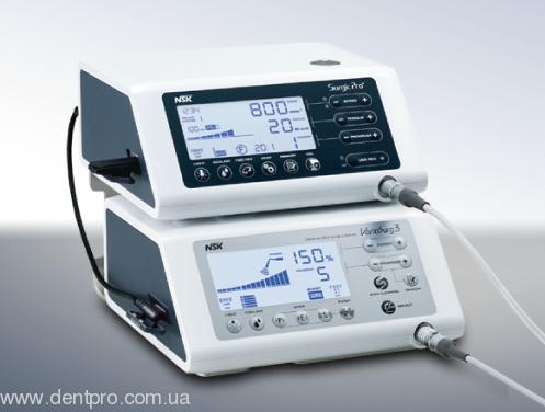 Физиодиспенсер Surgic Pro OPT (NSK) с LED-светом и наконечником 20:1 (кнопочный) - 6