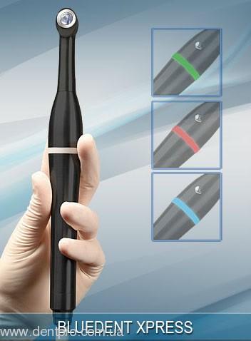БлюДент ЛЭД Экспресс (BlueDent LED XPRESS Light Curing), проводной фотополимеризатор с HYPER-режимом 3500мВт/см2 - 1