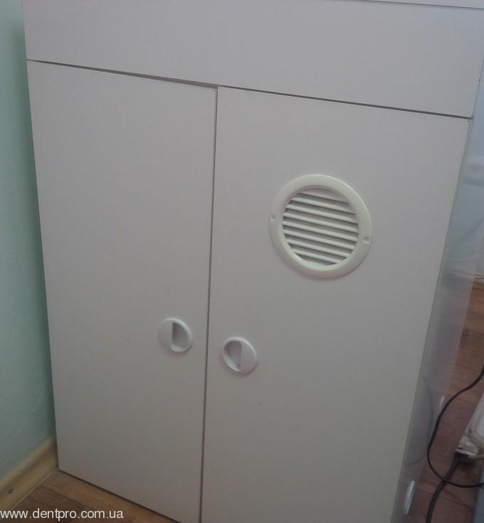 Звукопоглощающий шкаф с принудительным охлаждением для компрессоров и вакуумных помп - 1