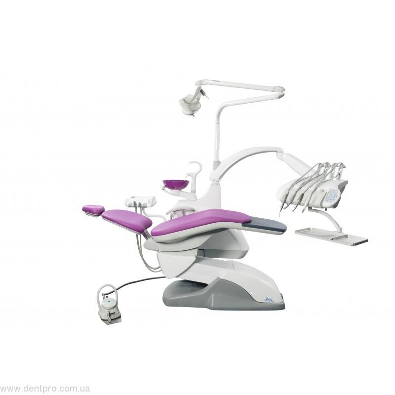Стоматологическая установка PRINCE (Fedesa, Испания), с навесным на кресле гидроблоком - 1