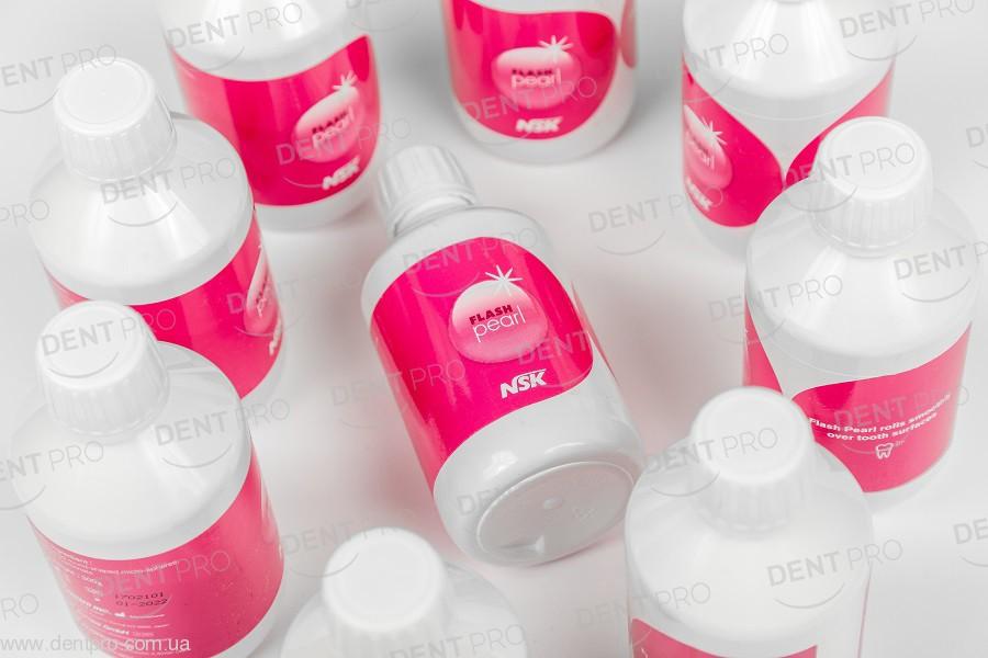 АКЦИЯ ОСЕНИ (!) Порошок для профессиональной чистки Флеш Перл НСК (PROPHY MATE Cleaning Powder Flash pearl NSK), без содержания соды, Карбонат Кальция (CaCO2) - 6