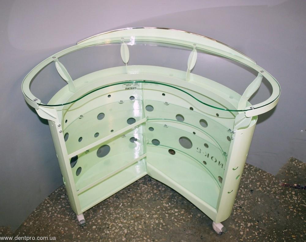 Медицинский столик ПАНОК овальный для инструментов и приборов - 1