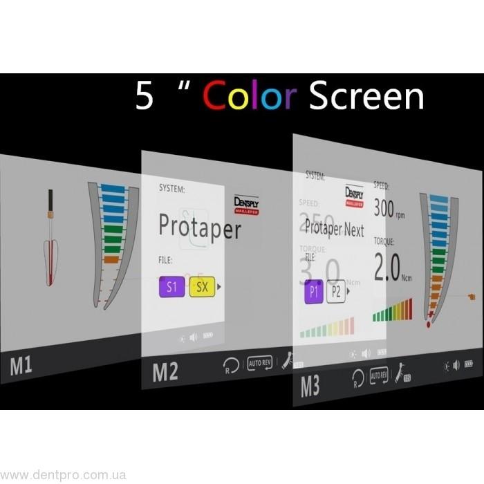 c-Smart I Pro (SOCO), проводная эндодонтическая машина (эндомотор) с апекслокатором и цветным экраном - 2