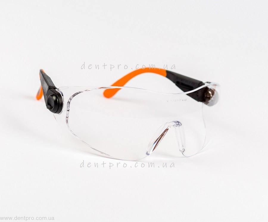Очки защитные Univet 529.00.05.00, прозрачные, защита от царапин - 2