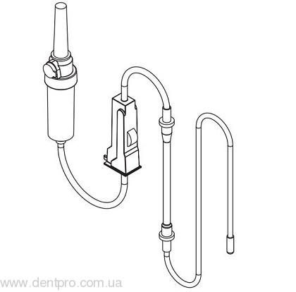 Ирригационные стерильные трубки для физиодиспенсера W&H ImplantMed, упаковка 6шт - 1